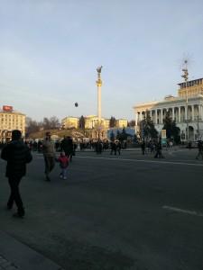 Freedom Square in Kiev